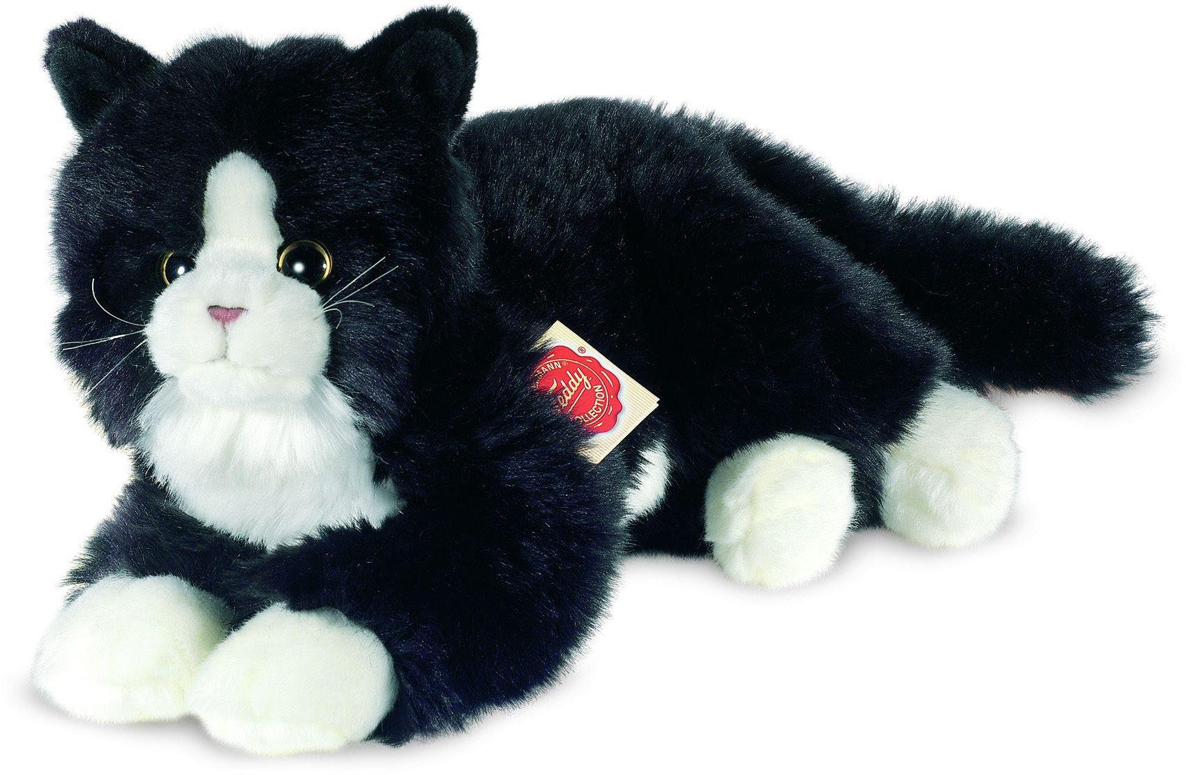 Teddy Hermann® COLLECTION Plüschtier, »Katze schwarz, 25 cm«