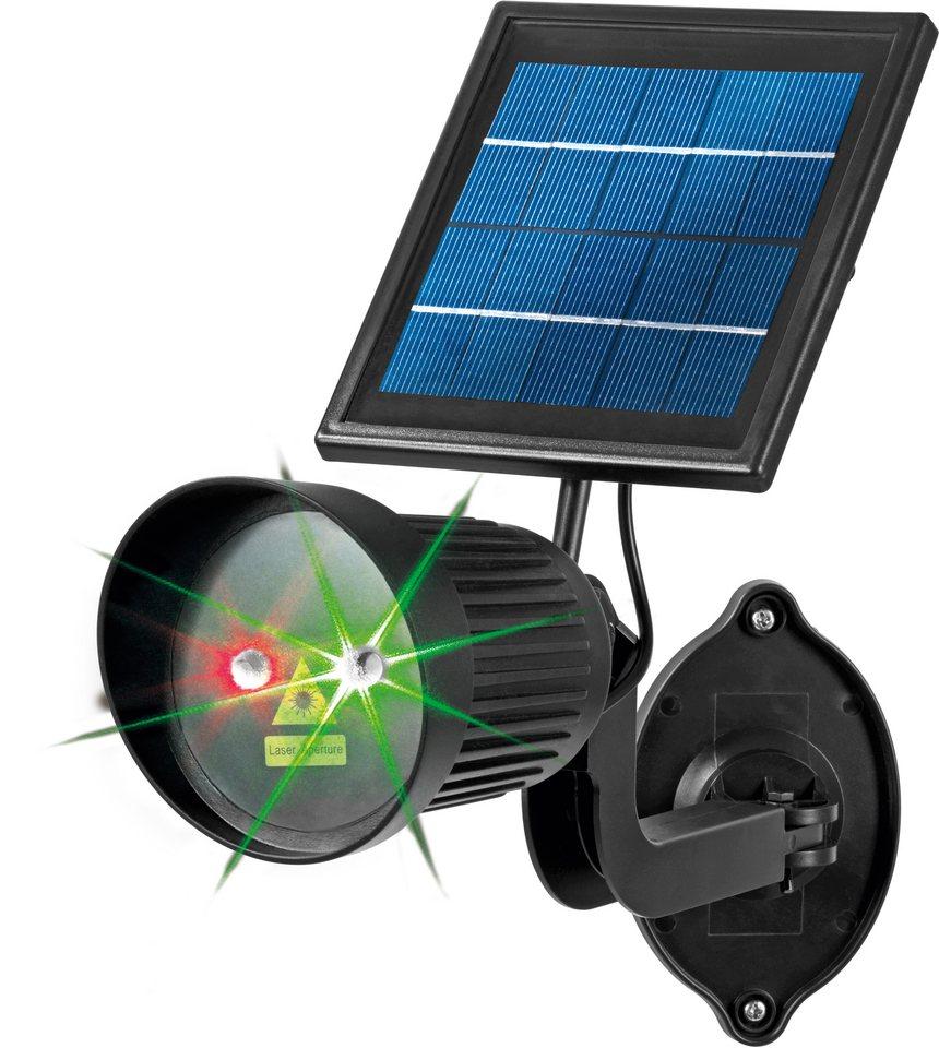 EASYmaxx Solar-Laserstrahler, »TV-Werbung« in schwarz