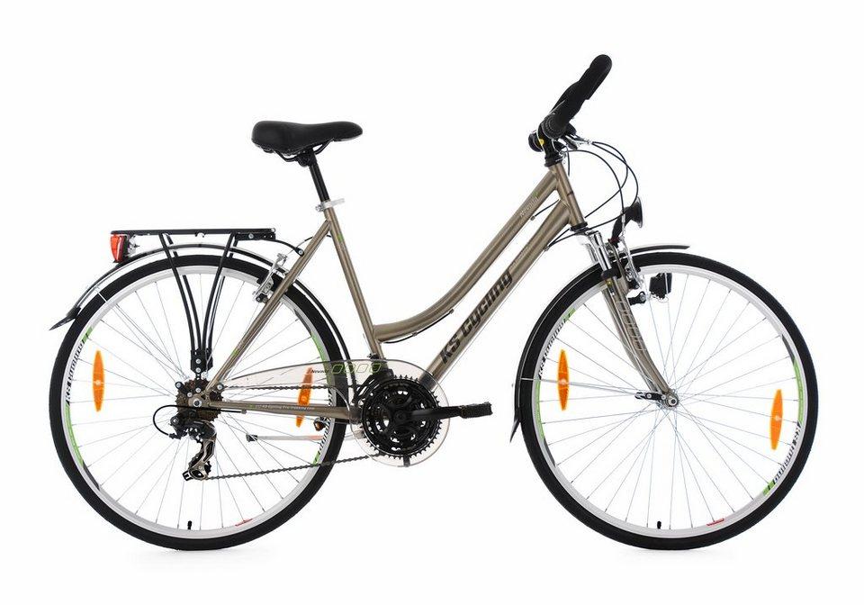 ks cycling damen trekkingrad 28 zoll shimano tourney tx. Black Bedroom Furniture Sets. Home Design Ideas