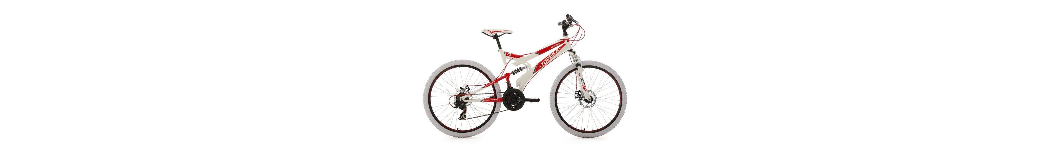KS Cycling Fully-Mountainbike, 26 Zoll, 21 Gang-ShimanoTourney Kettenschaltung, »Topeka«