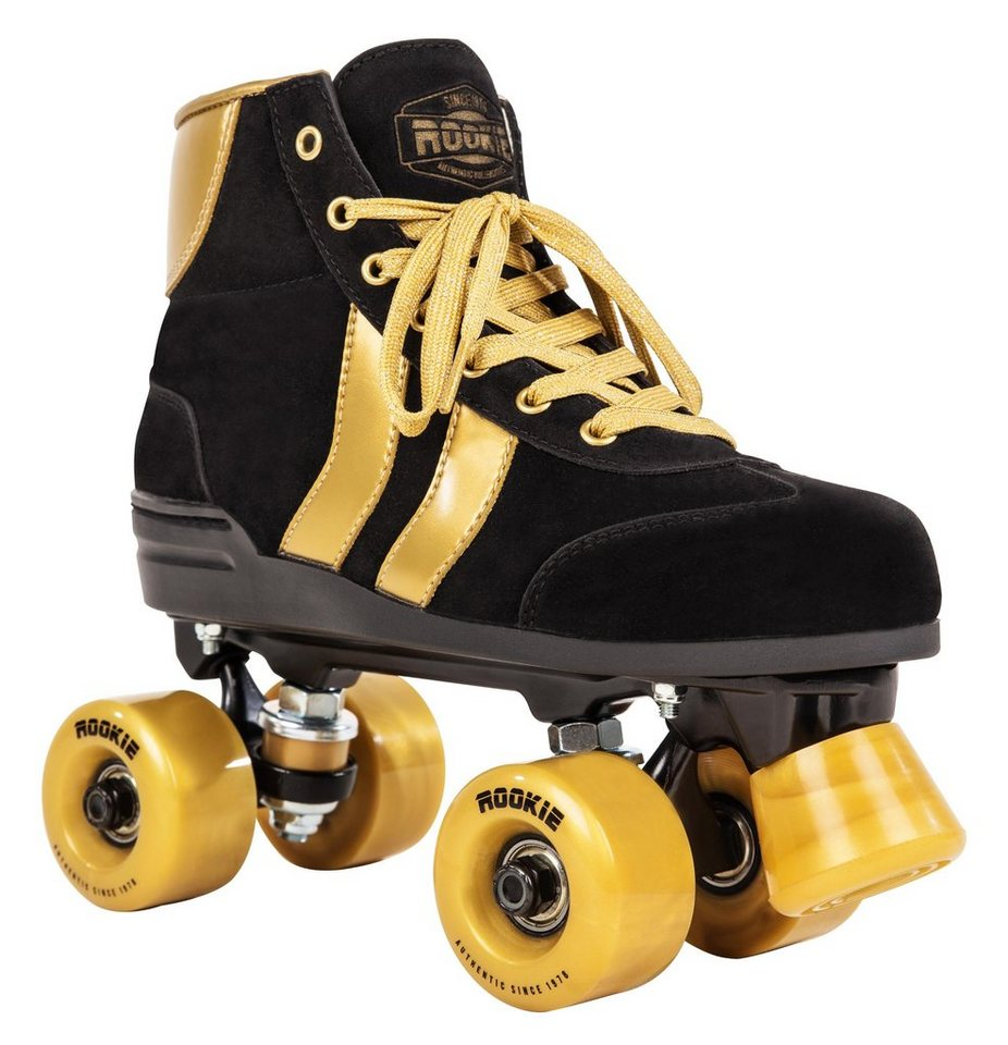 Rookie Rollschuh »Authentic« in Black/Gold