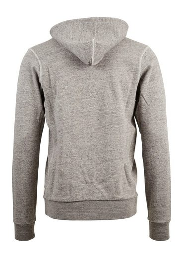 Scotch & Soda Sweatjacke Kapuzensweatjacke in grau
