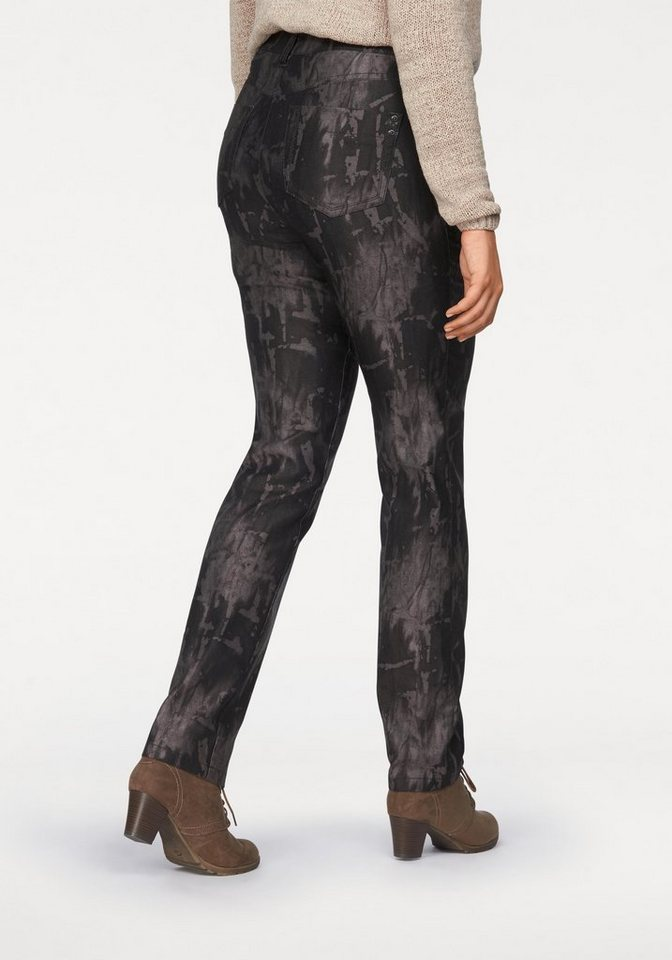 KjBRAND Stretch-Jeans »Betty« in taupe-batic