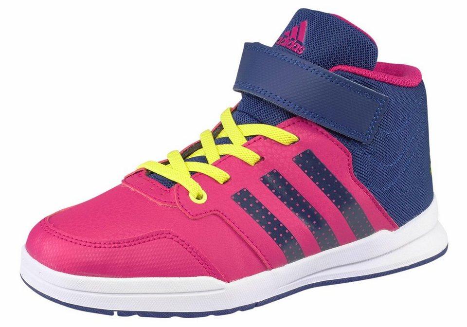 adidas Performance »Jan BS 2 Mid« Sneaker Kinder in pink-blau
