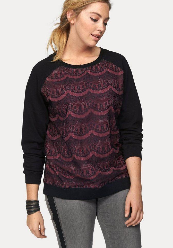 Junarose Sweatshirt in schwarz