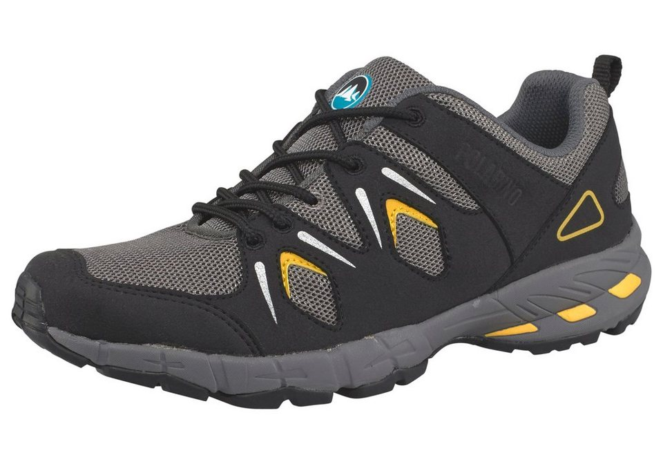 Polarino Atlanta Outdoorschuh in Schwarz-Gelb