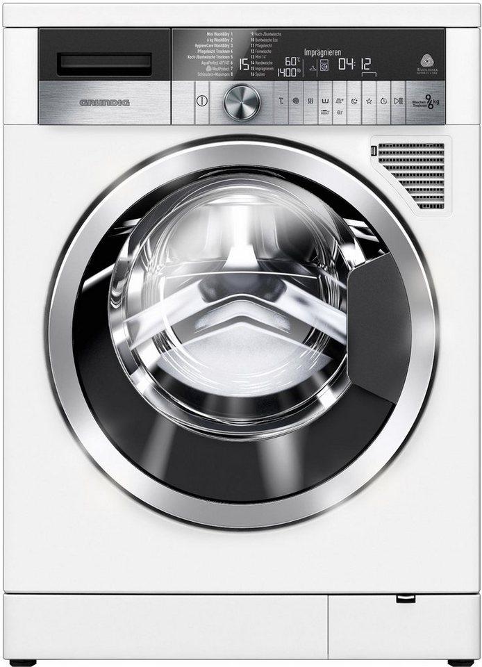 grundig waschtrockner gwd 59405 a 9 kg 6 kg u min online kaufen otto. Black Bedroom Furniture Sets. Home Design Ideas