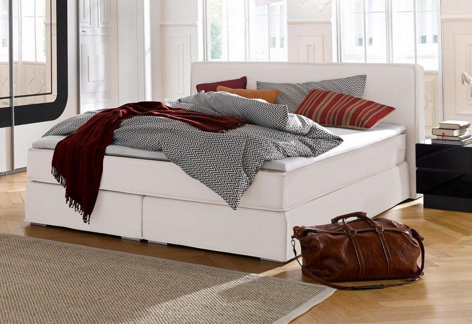 atlantic home collection boxspringbett kaufen otto. Black Bedroom Furniture Sets. Home Design Ideas