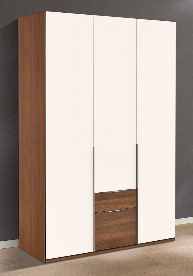 kleiderschrank nussbaum wei. Black Bedroom Furniture Sets. Home Design Ideas