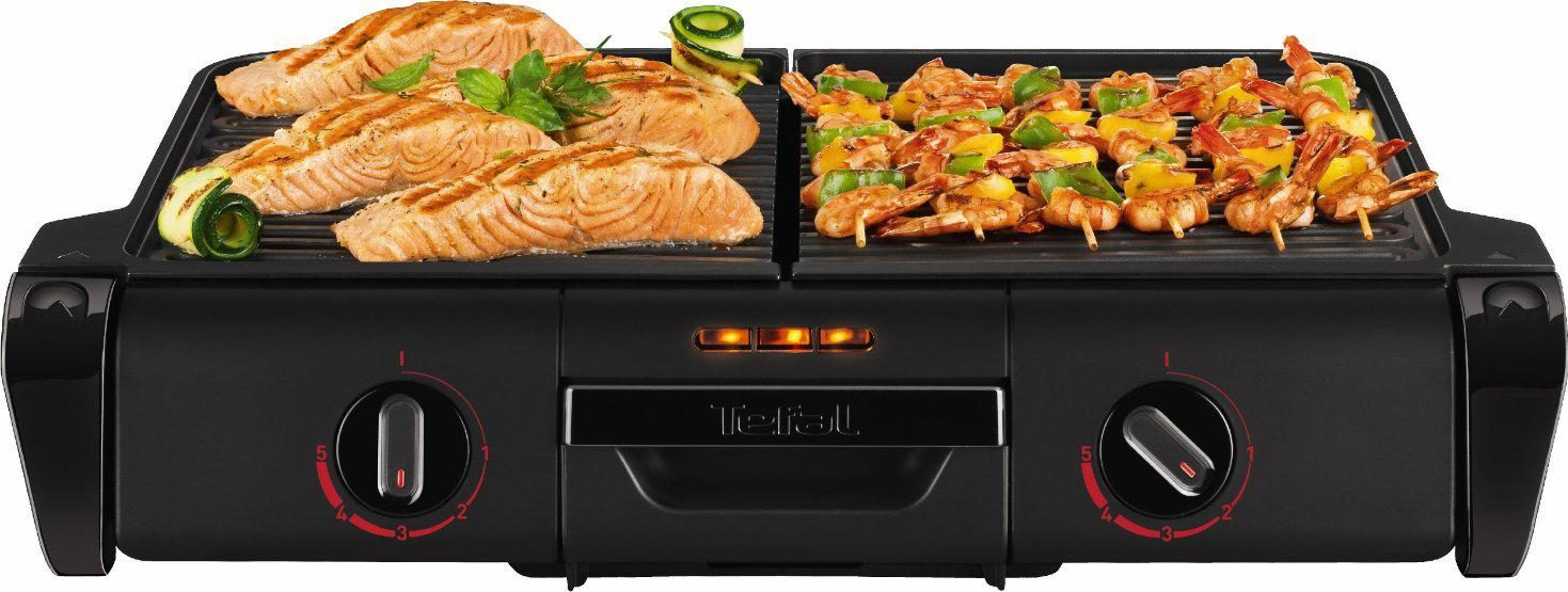 Tefal Family Grill TG8008 Black Edition