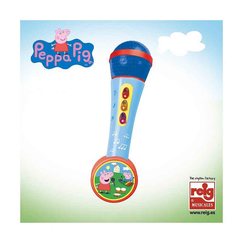 Peppa Pig Mikrofon »Handmikrofon mit Lichtern und Melodien«