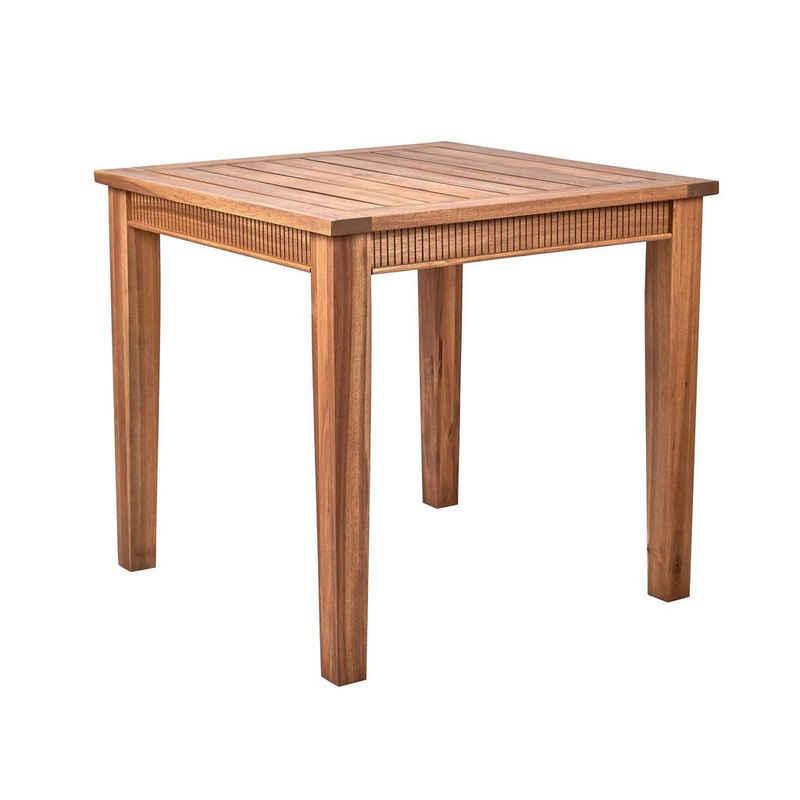 BUTLERS Gartentisch »ACACIA SPRINGS Tisch 80x80 cm«
