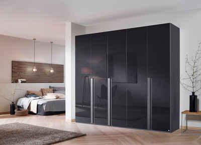 rauch BLACK Drehtürenschrank »Talus« mit umfangreicher Innenausstattung, wahlweise mit oder ohne Grauspiegel