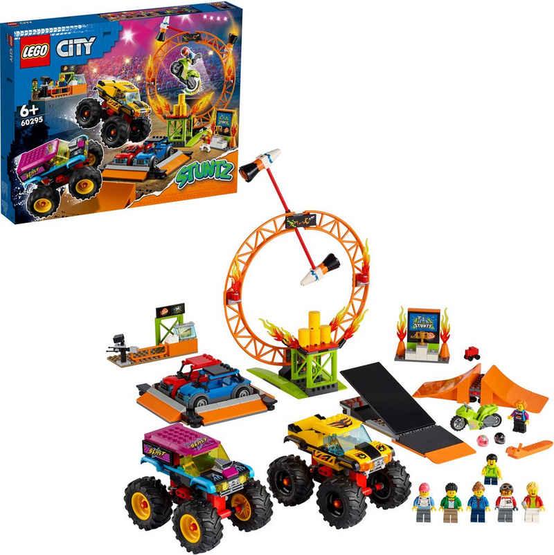 LEGO® Konstruktionsspielsteine »Stuntshow-Arena (60295), LEGO® City Stuntz«, (668 St), Made in Europe