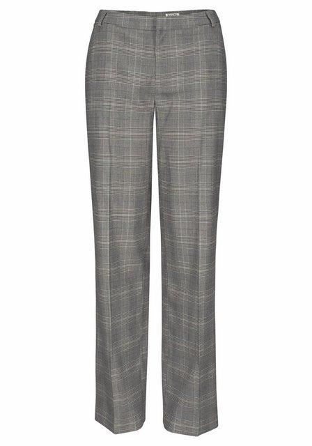 Hosen - Boysen's Bügelfaltenhose mit feinem Karo Muster aus Glencheck ›  - Onlineshop OTTO