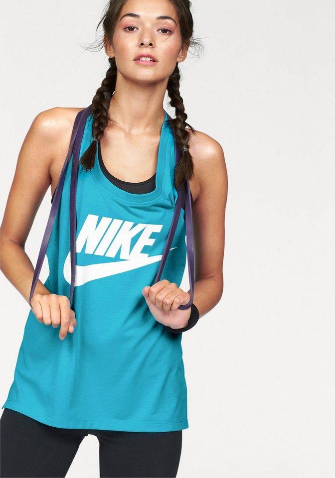 Nike Tanktop »SIGNAL TANK LOGO« in blau