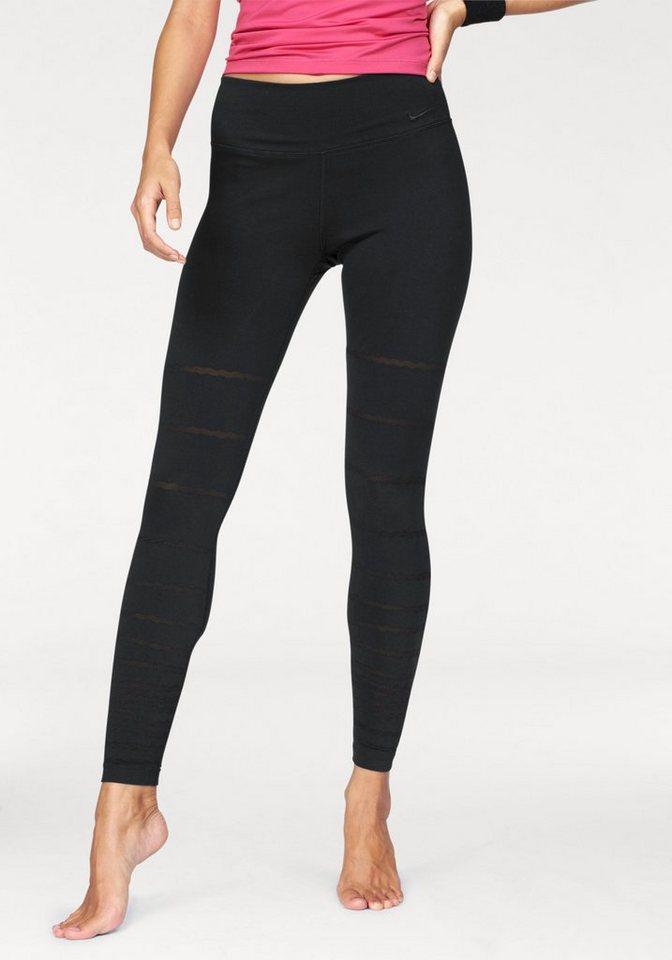 Nike Leggings »LEGEND TIGHT BURNOUT PANT« mit Burnout Muster in schwarz