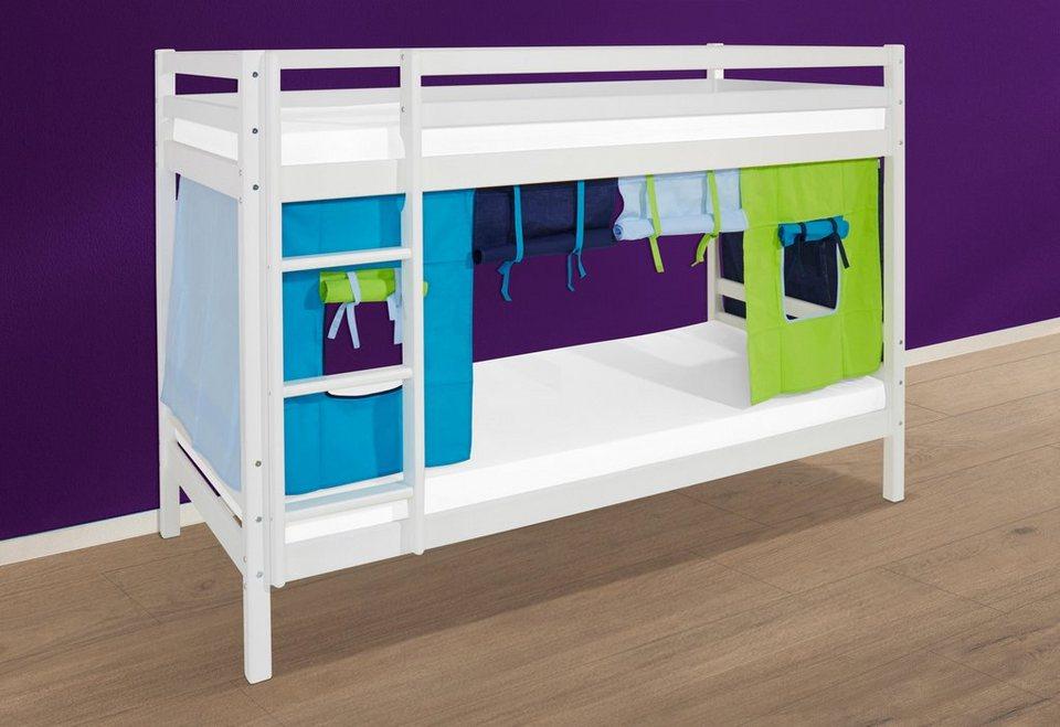 Etagenbett 70 160 : Hoppekids etagenbett »multicolor« online kaufen otto