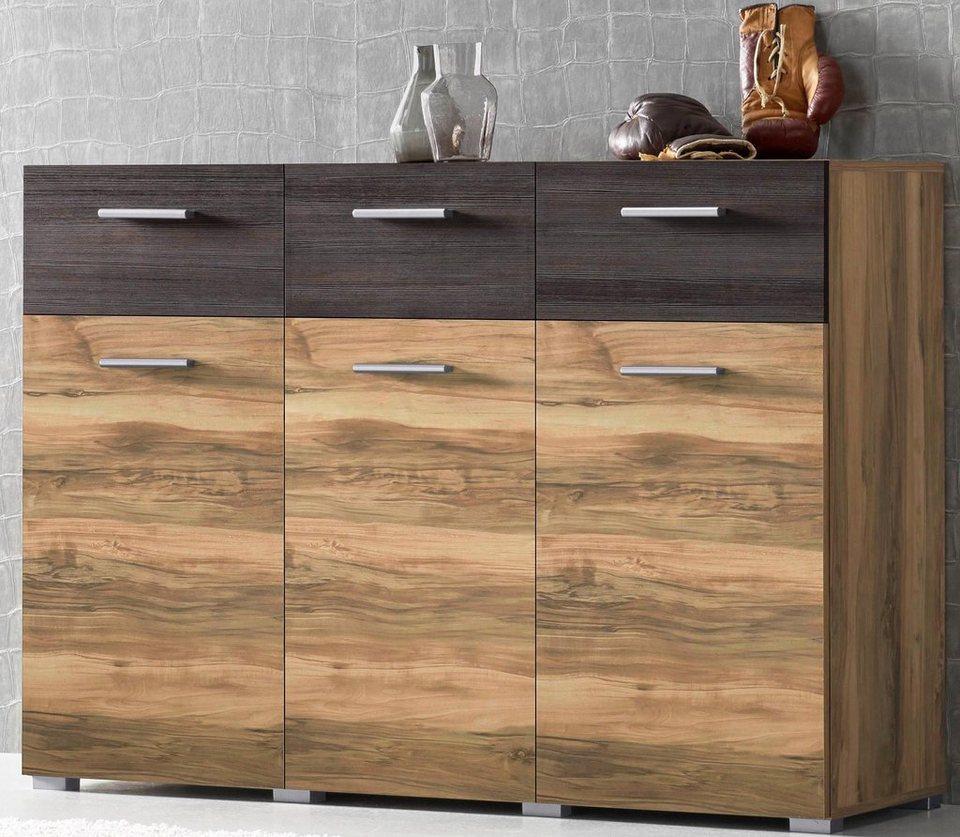 darkwood sideboard sideboard breite 132 cm online kaufen otto sideboard breite 176 cm wei. Black Bedroom Furniture Sets. Home Design Ideas