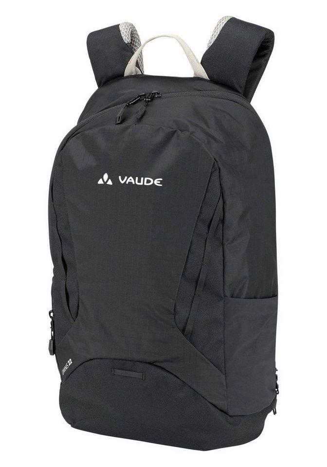 Vaude Tagesrucksack »OMNIS 22« mit schräger Öffnung in schwarz