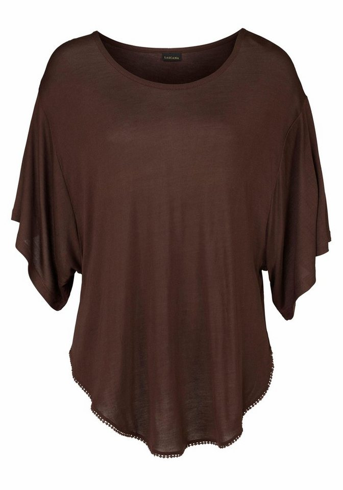 LASCANA Strandshirt in braun
