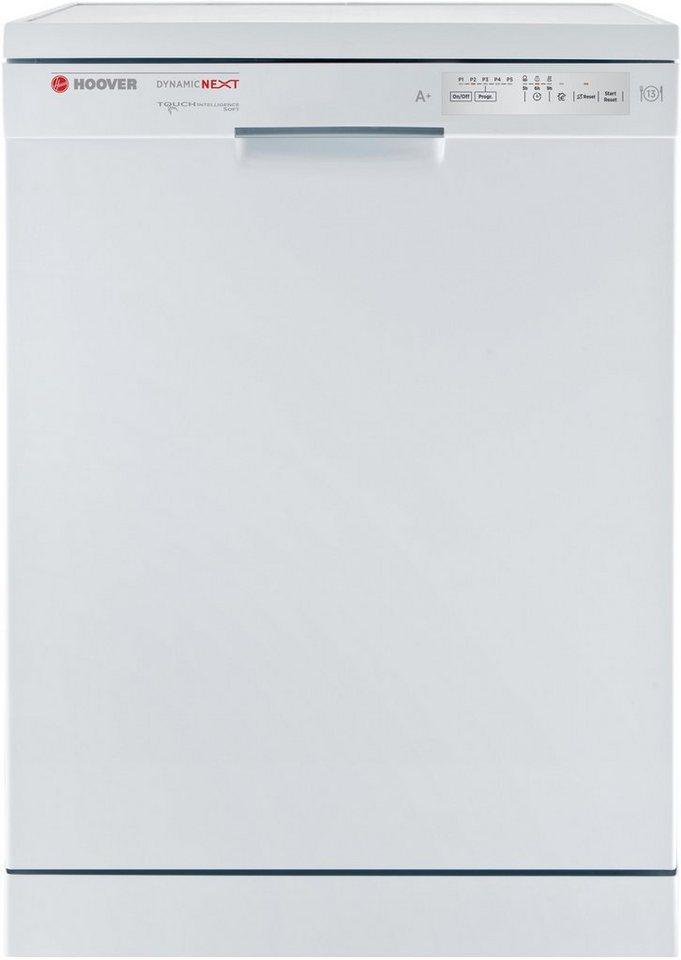 Hoover Geschirrspüler HDP 1L39W, A+, 12 Liter, 13 Maßgedecke in weiß