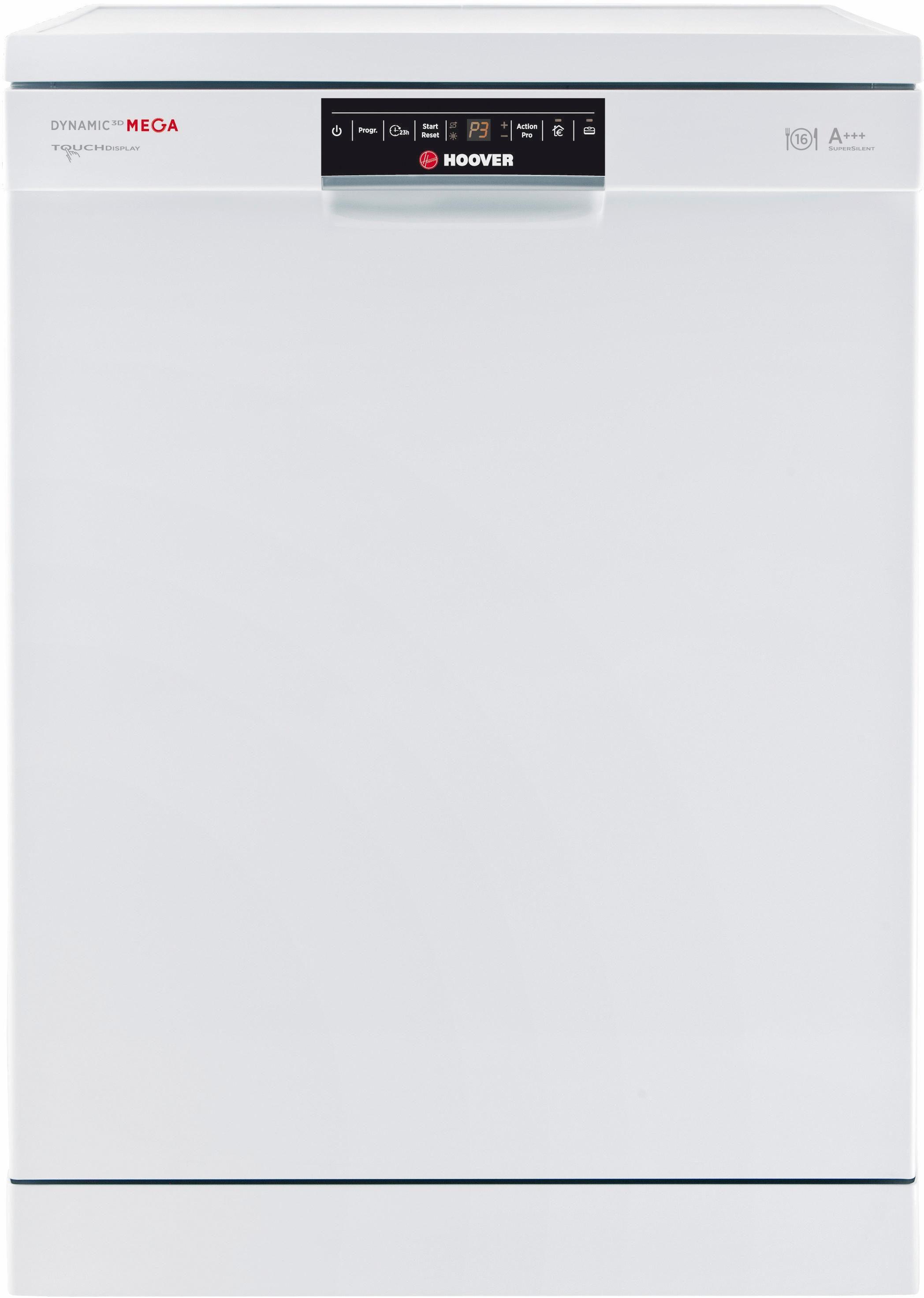 Hoover Geschirrspüler DYM 893/T, A+++, 10 Liter, 16 Maßgedecke