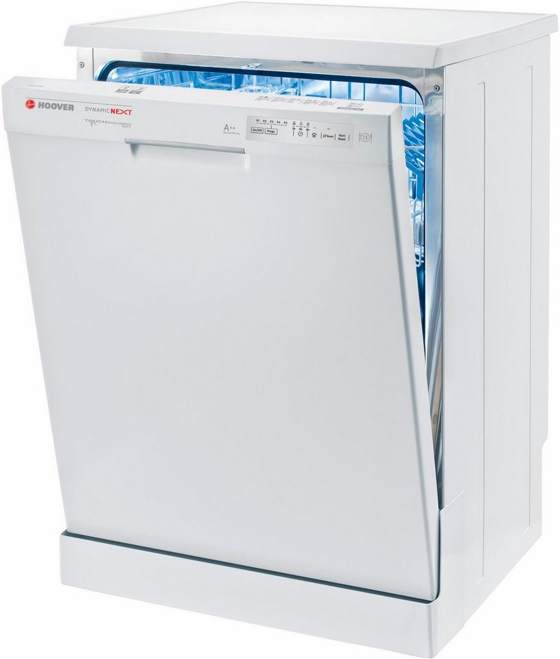 Hoover Geschirrspüler HDP 2L36W, A++, 10 Liter, 13 Maßgedecke in weiß