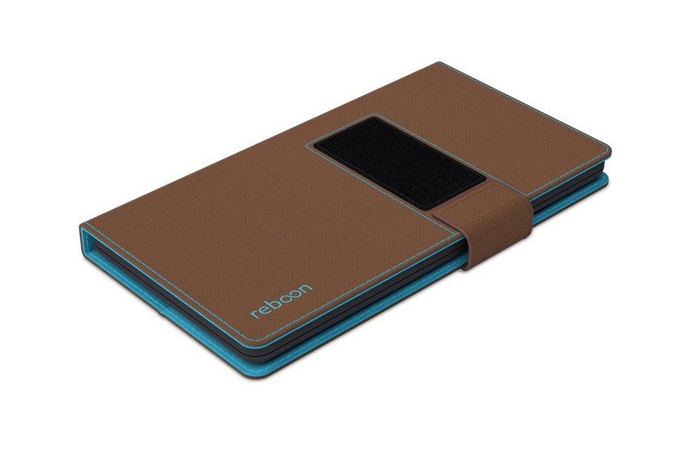 reboon Cover / Schutzhülle für Handys »booncover XS2« in braun