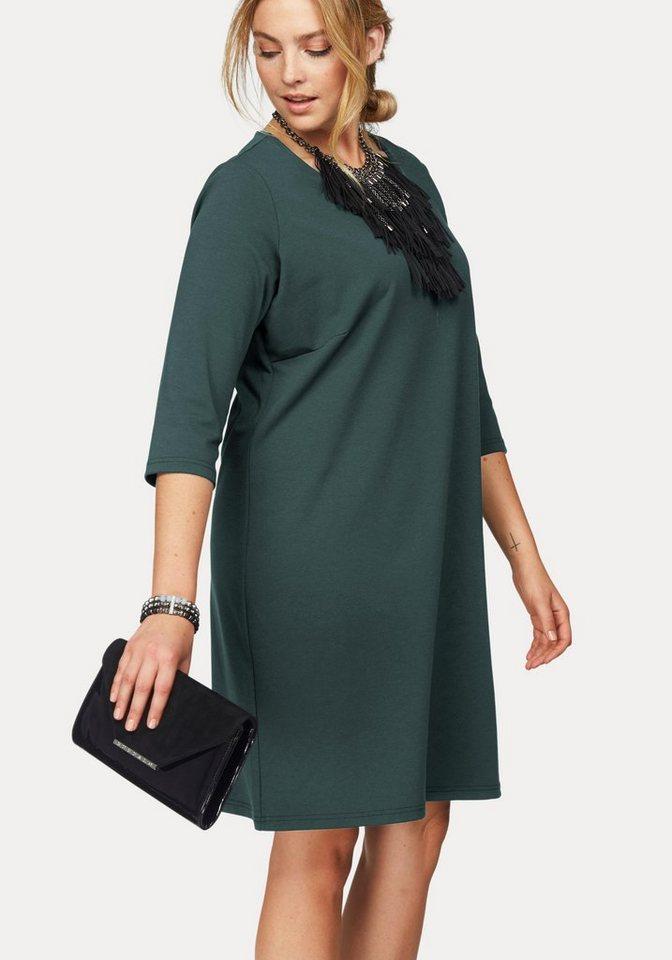 Zizzi Jerseykleid in grün