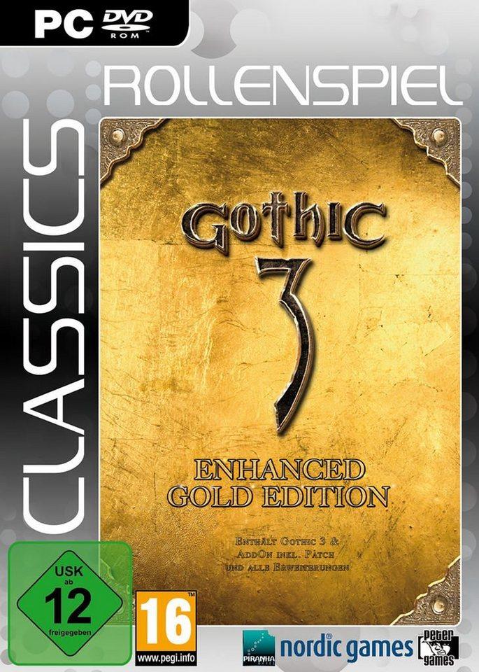 Morphicon PC - Spiel »Gothic 3 Gold (inkl. Götterdämmerung) (Classics)«