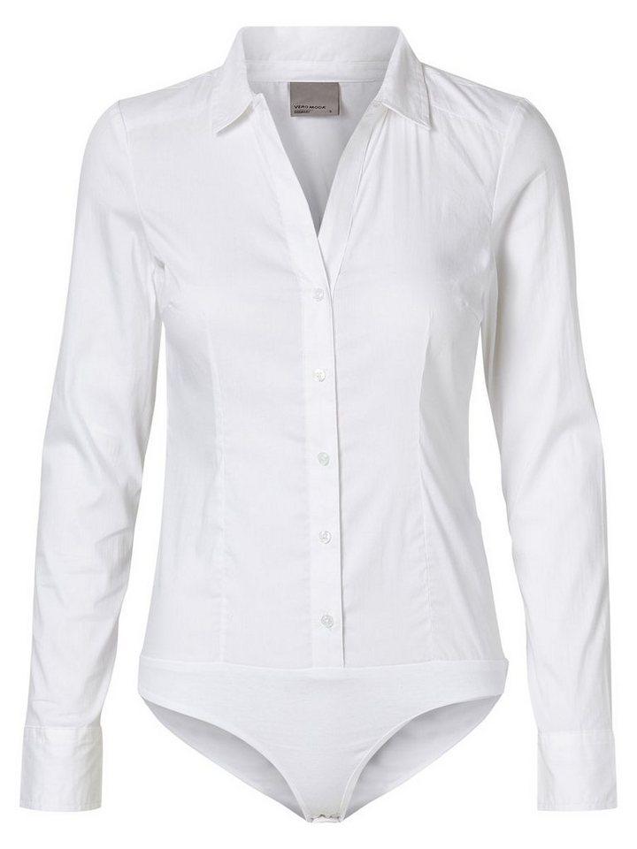 Vero Moda Klassische Hemd in Bright White