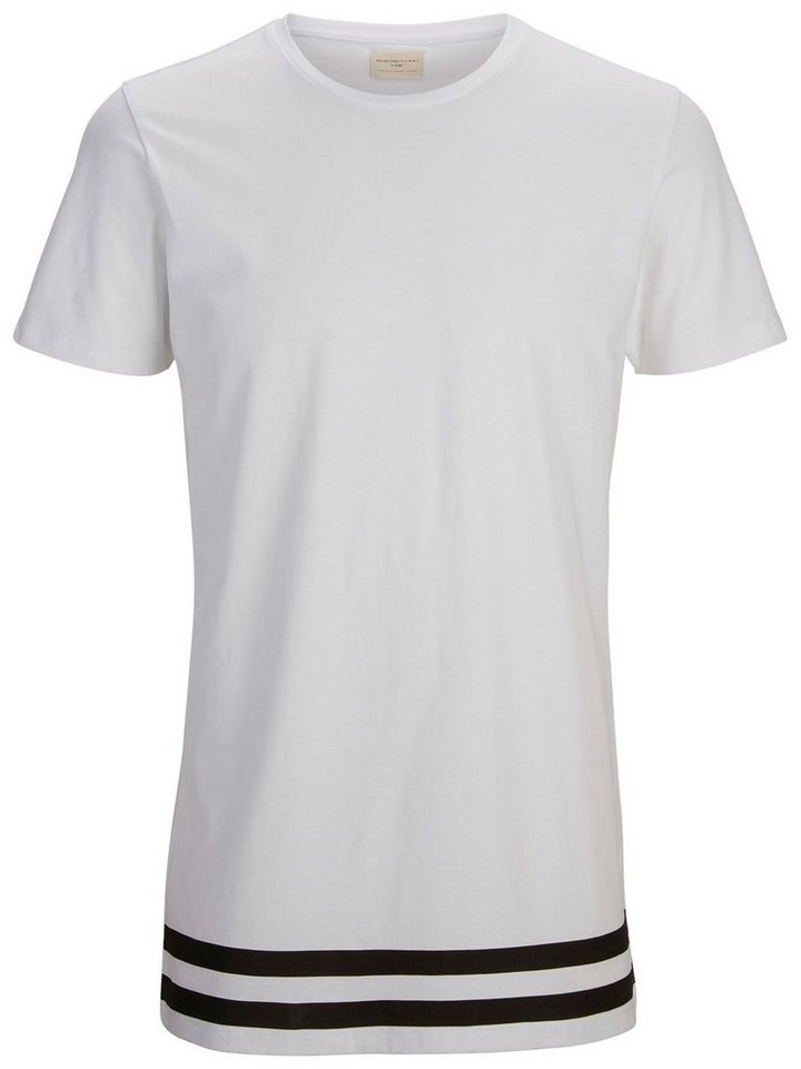 Selected Gestreiftes T-Shirt in White