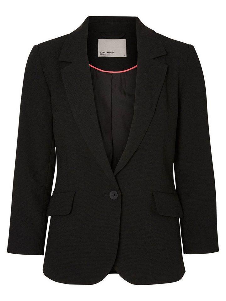 Vero Moda Klassischer Blazer in Black