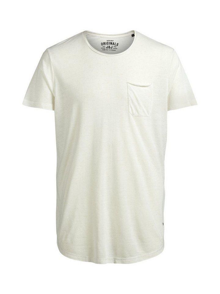 Jack & Jones Oversize- T-Shirt in Treated White