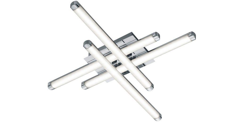 TRIO Leuchten LED-Deckenleuchte, 4 flg. »STREET«
