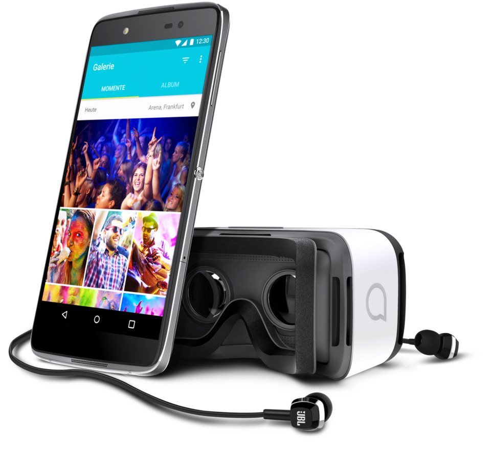 Alcatel Smartphone »IDOL 4+ 6055K« in Anthrazit-Schwarz