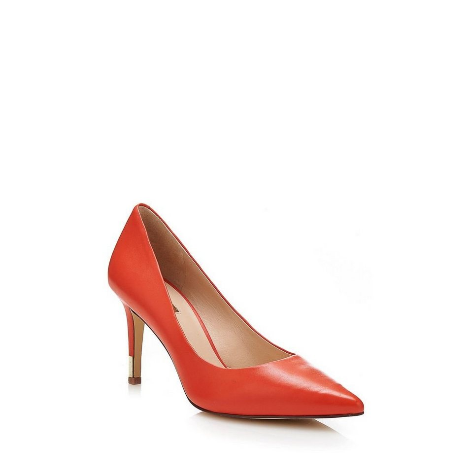 Guess Zapatos Ele aus Leder in Orange