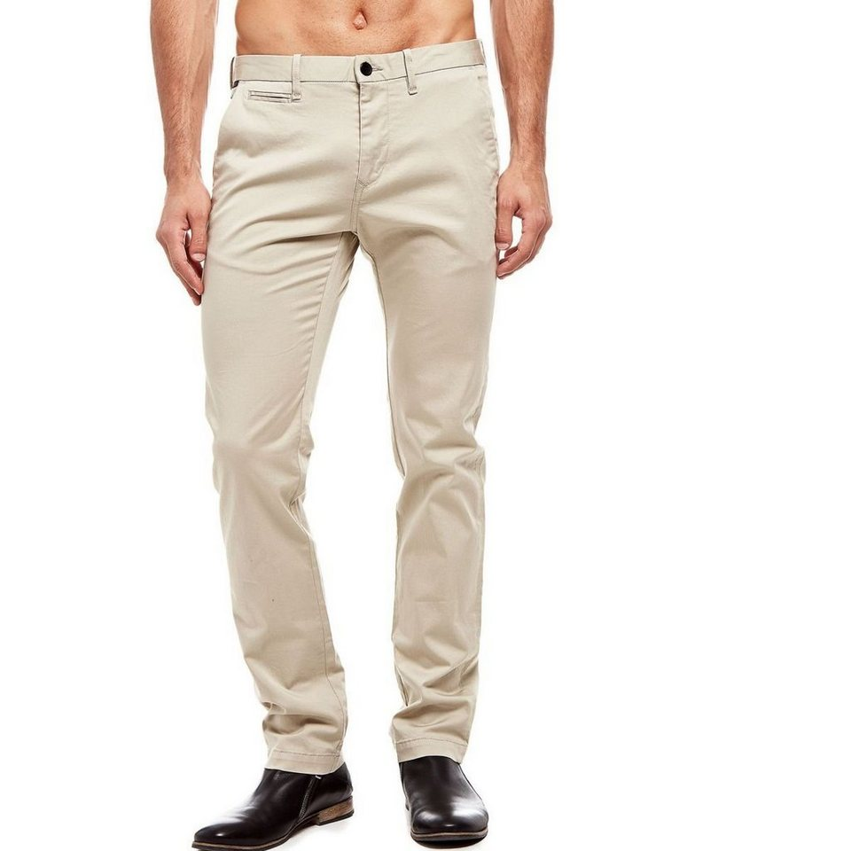 Guess Chinohose aus Baumwollstretch in Beige