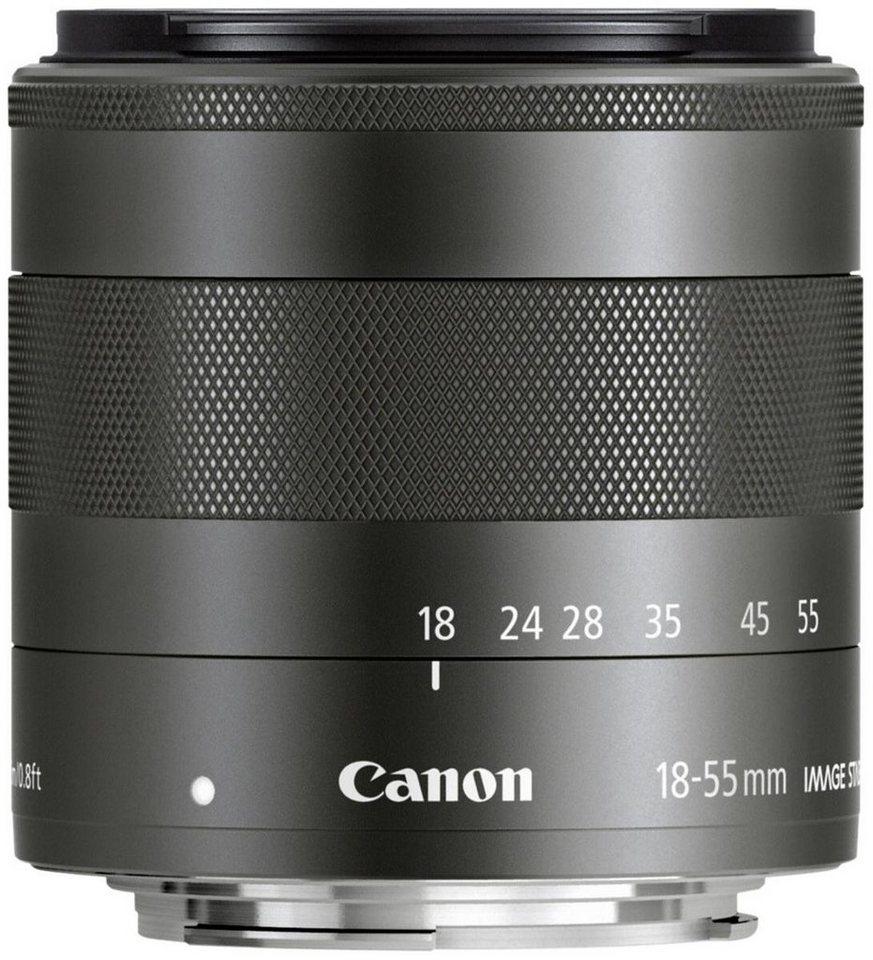 Canon Objektive »EF-M 3,5-5,6 /18-55 IS STM« in schwarz