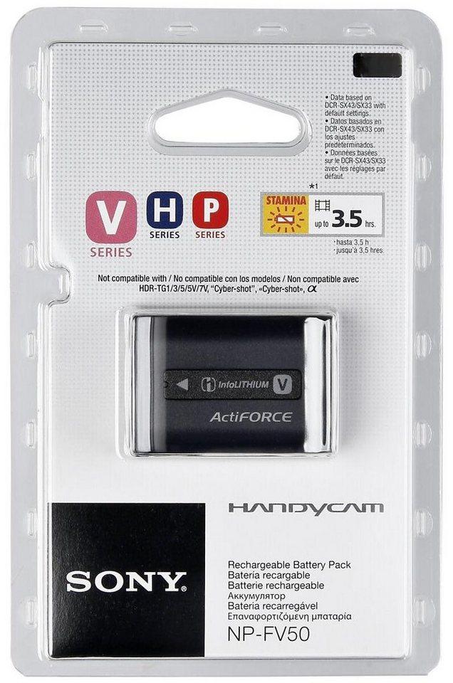 Sony Energie »NP-FV50« in schwarz