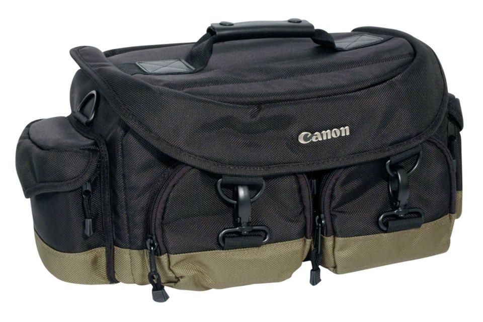 Canon Fototasche »Professional Gadget Bag 1EG« in schwarz / olivgrün