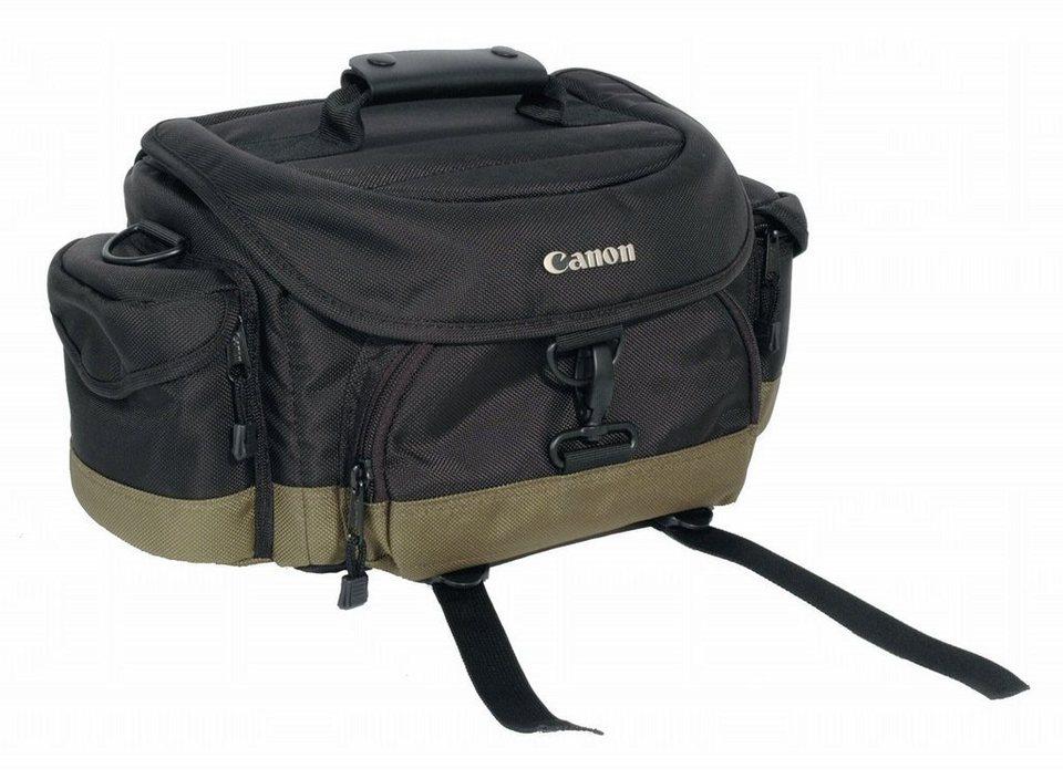 Canon Fototasche »Deluxe Gadget Bag 10EG« in schwarz / olivgrün