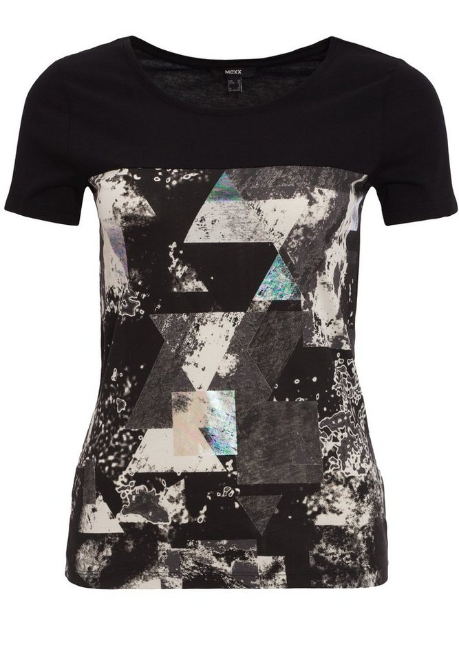 Mexx T-Shirt in schwarz