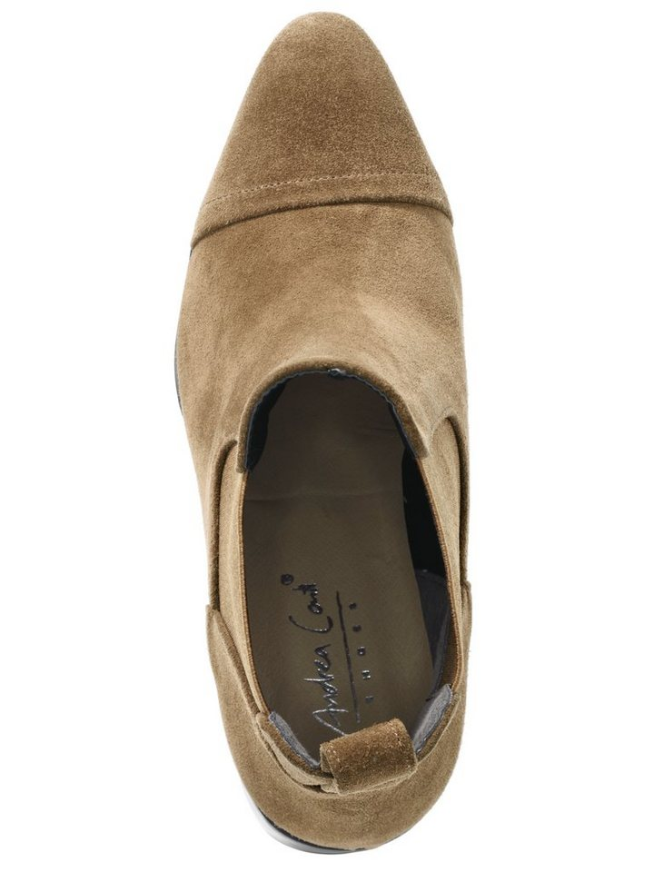 Stiefelette in taupe