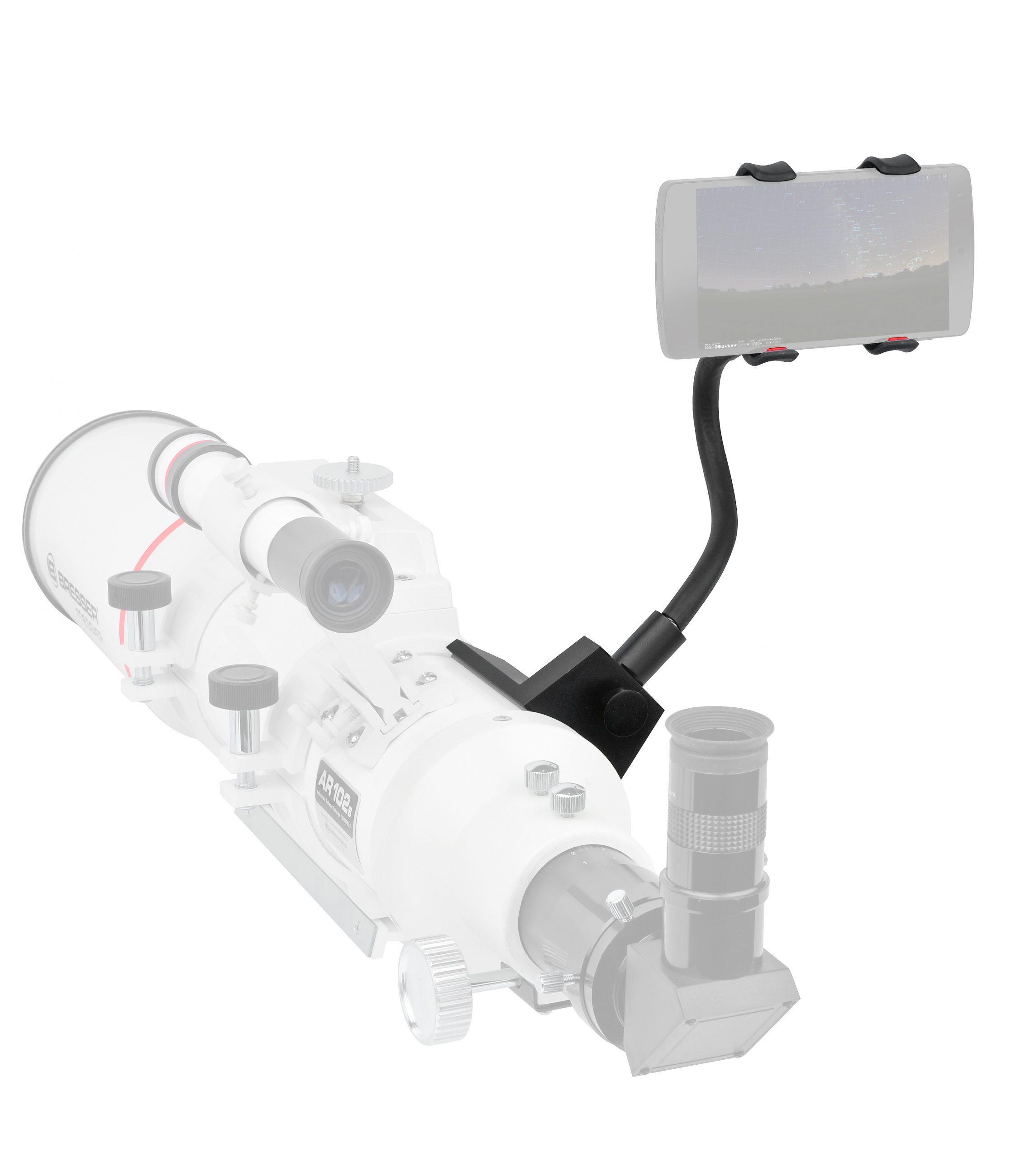 BRESSER Smartphonehalter »BRESSER Smartphone-Halter für Fernglas/Teleskop«
