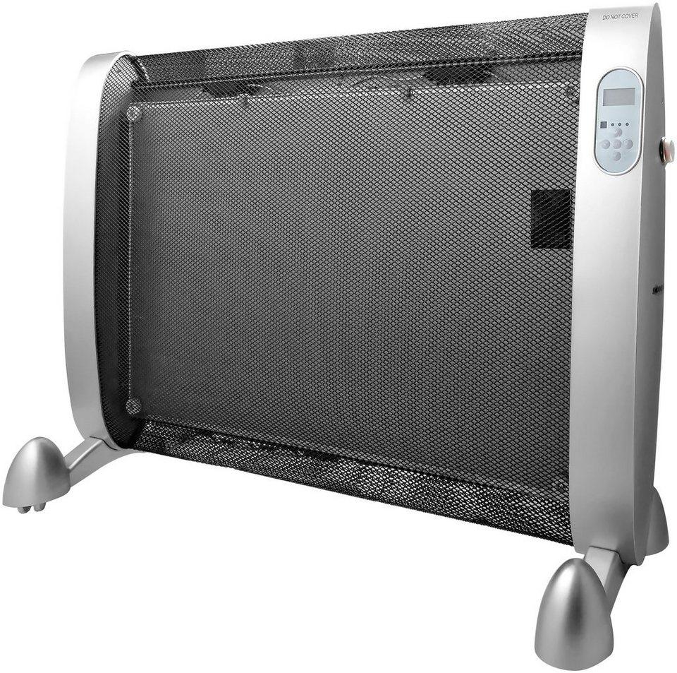 Wärmewelle »Maximo 2000 LCD«, silberfarben, 2000 Watt, 2 Heizstufen in silberfarben