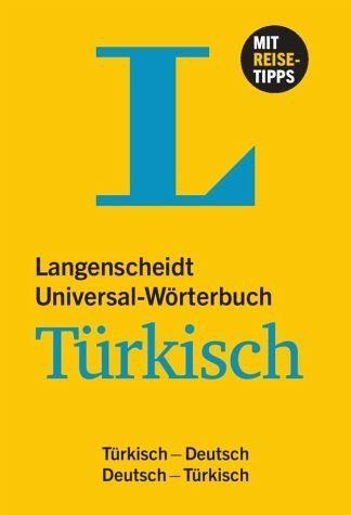 Buch mit Kunststoff-Einband »Langenscheidt Universal-Wörterbuch Türkisch«