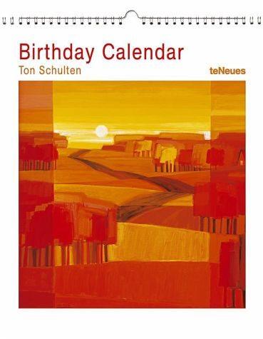 Kalender »Birthday Calendar Ton Schulten«