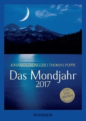 Kalender »Das Mondjahr 2017 s/w-Taschenkalender«